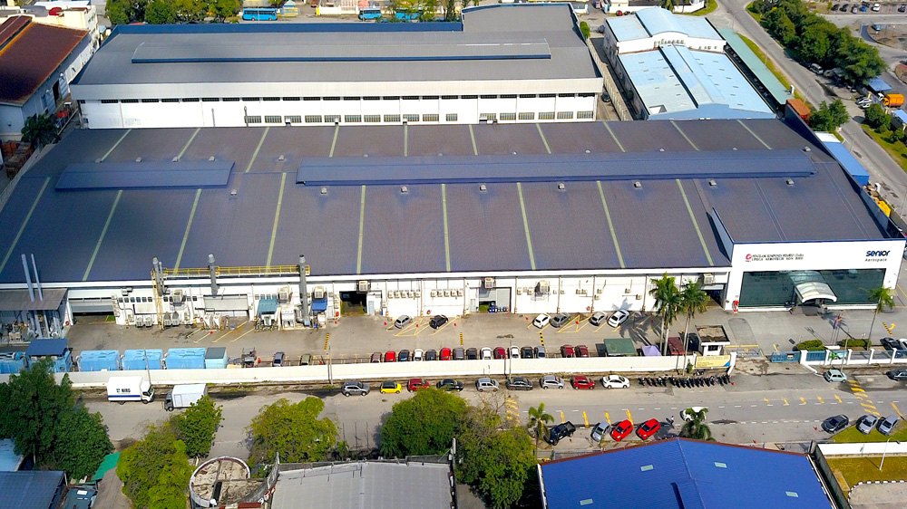 Project: Air Condition Component Manufacturer, Shah Alam<br />Material: ColourMaxx Premiera<br />Application: Roofing