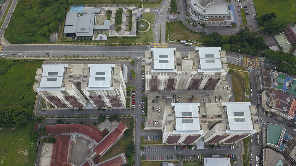 Project:	Government Quarters, KL <br />Material: ColourMaxx Premiera <br />Application: Roofing