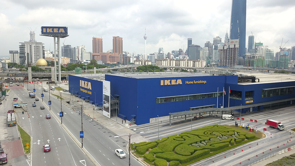 Project:Home Finishing Shopping Mall, KL <br />Material: C.Extreme <br />Application: PVdF Cladding