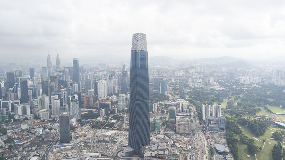 Project:High Rise Tower, KL <br />Material: GalMaxx Premium <br />Application: Floor Decking