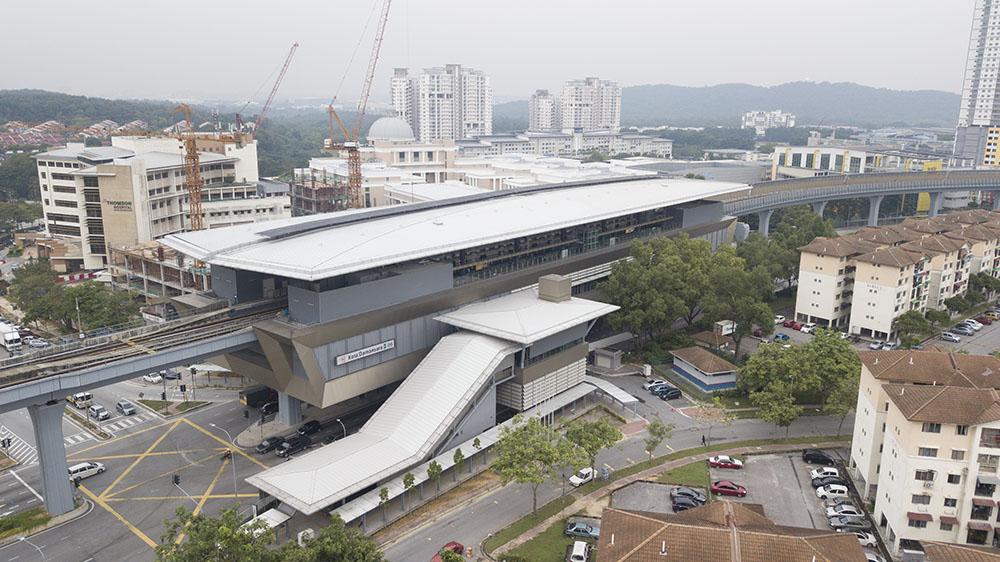 Project:MRT Kota Damansara <br />Material: GalMaxx & C.Extreme  <br />Application: Floor Decking & PVdF Roofing