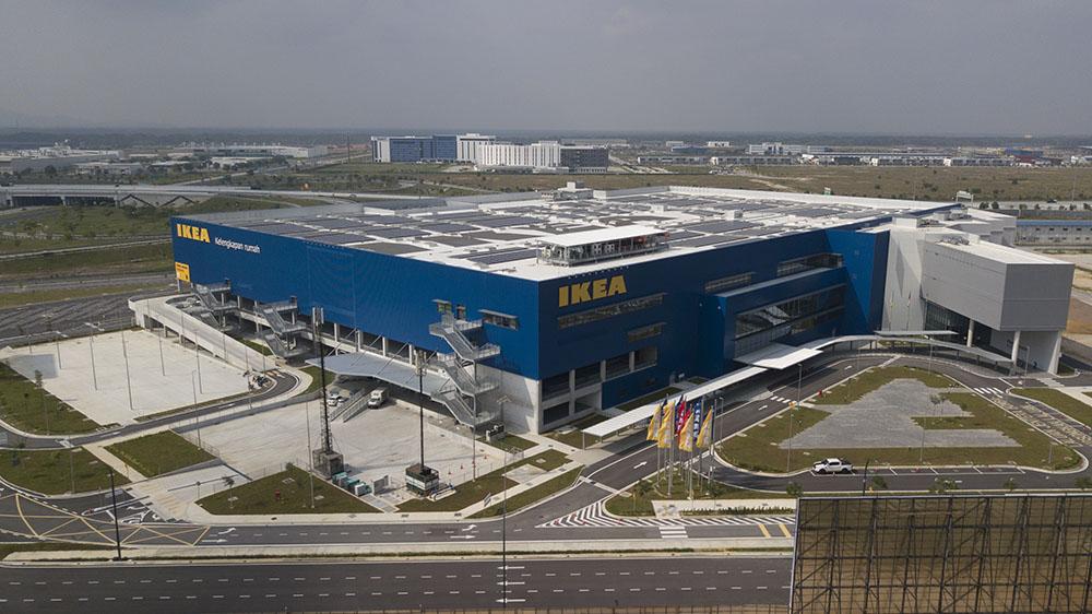 Project:Home Finishing Shopping Mall, Batu Kawan<br />Material: GalMaxx<br />Application: Air Conditioning Ducting