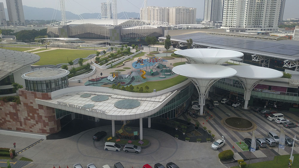 Project:	Convention Centre, Penang <br />Material: GalMaxx <br />Application: Air Conditioning Ducting
